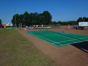 Badmintonfeld