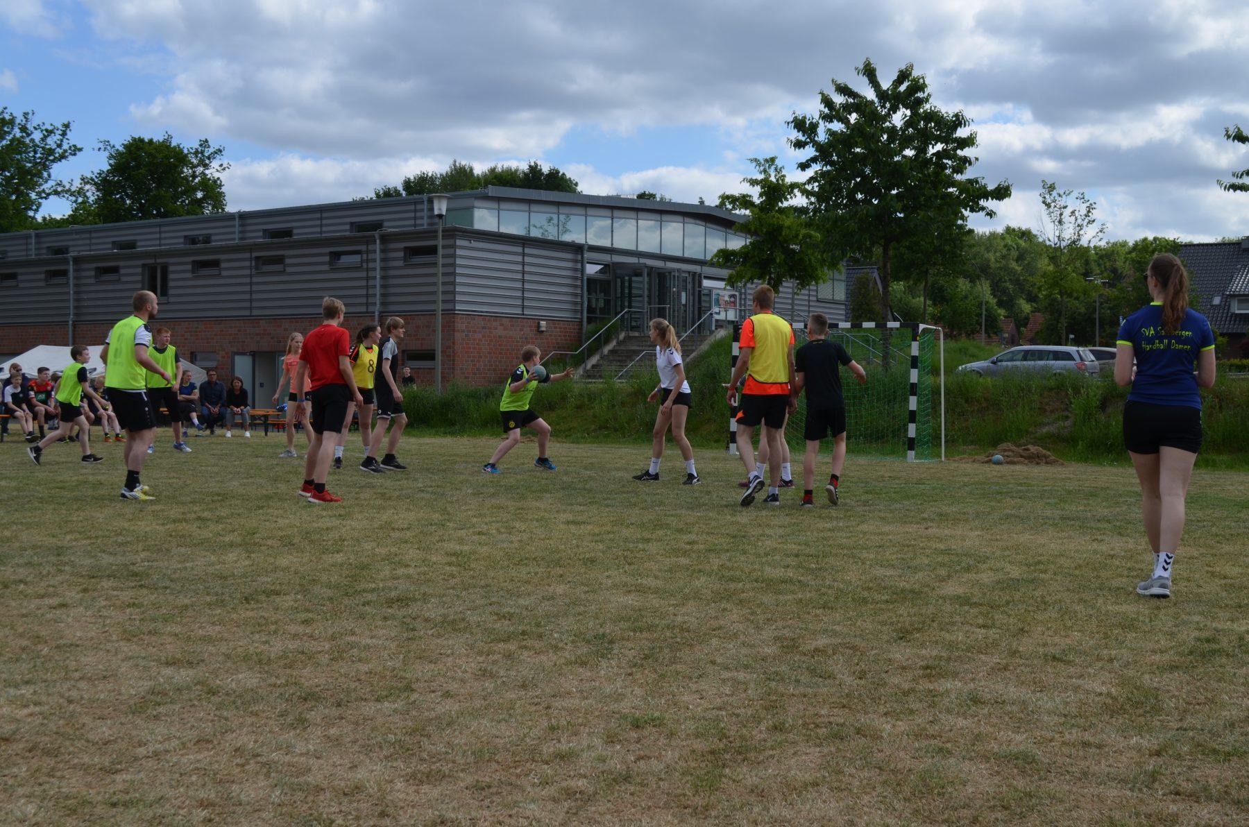Sommerfest der Handballer ein voller Erfolg