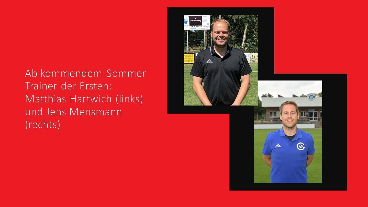 Trainerwechsel bei der Ersten Fussball-Senioren im Sommer