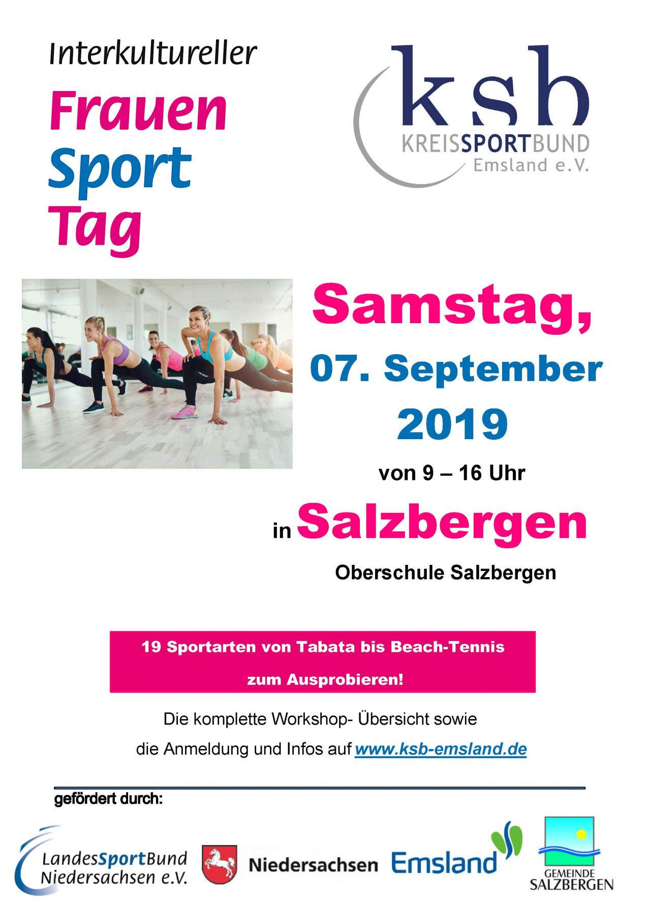 Frauensporttag am 07. September