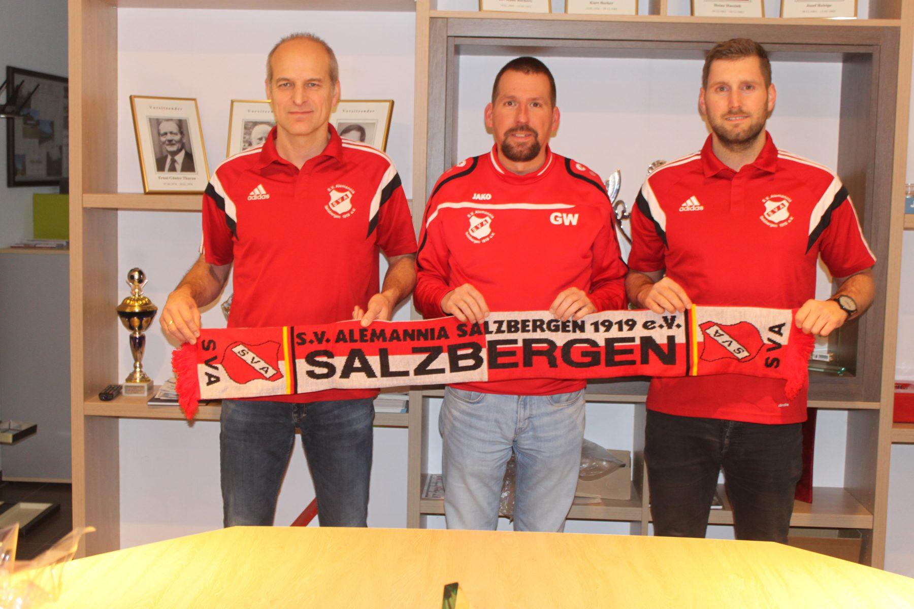 Trainerwechsel bei der Ersten Mannschaft des SVA Salzbergen im Sommer