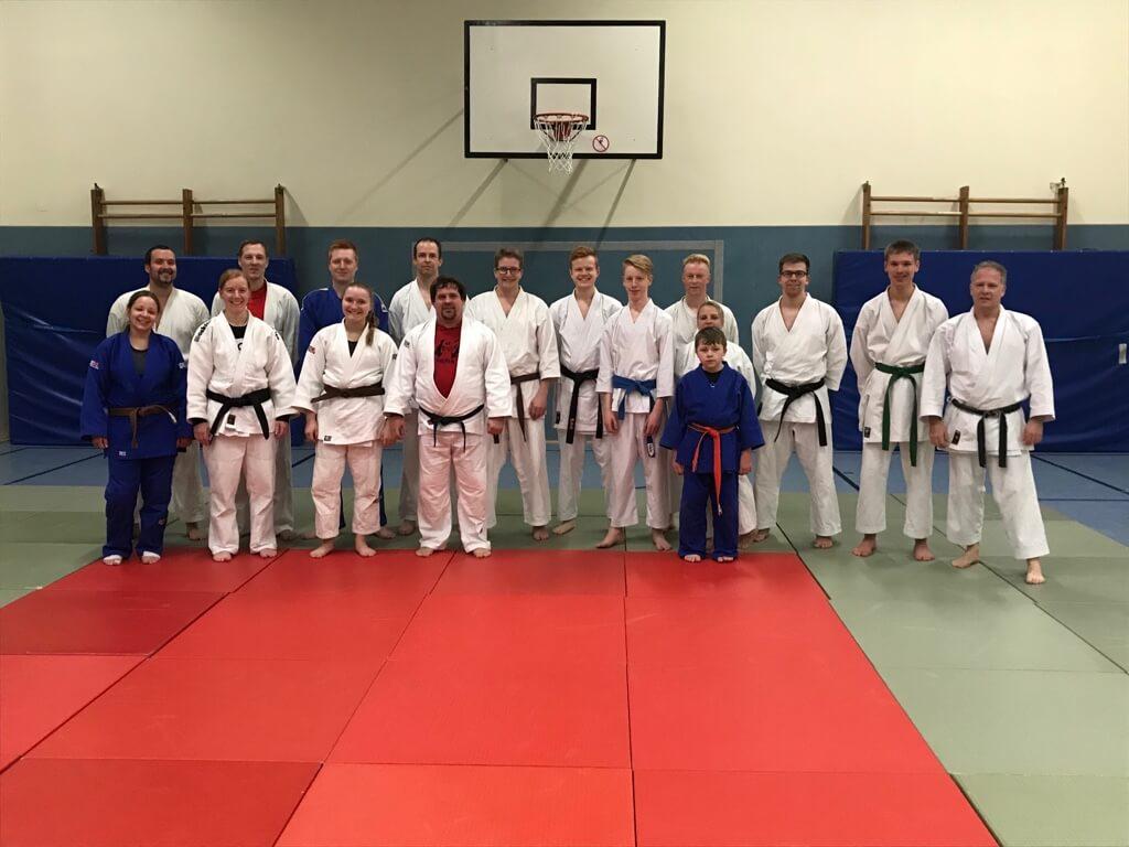 Jahresauftakttraining SVA Judo & Karate